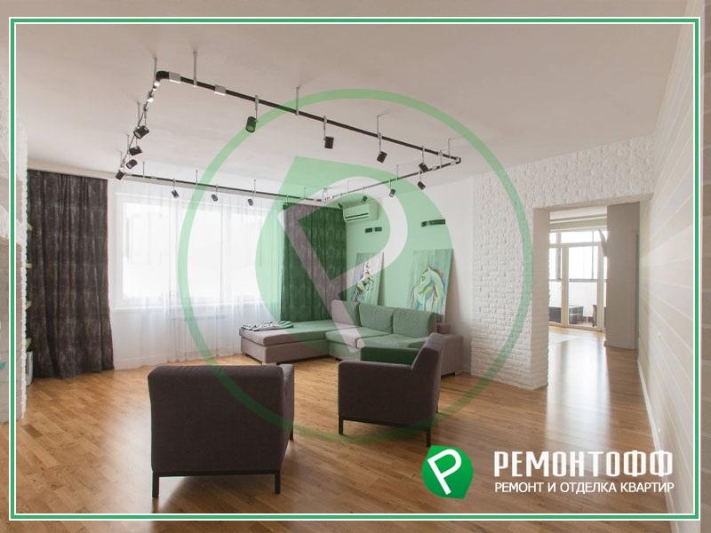 Стильный ремонт квартиры